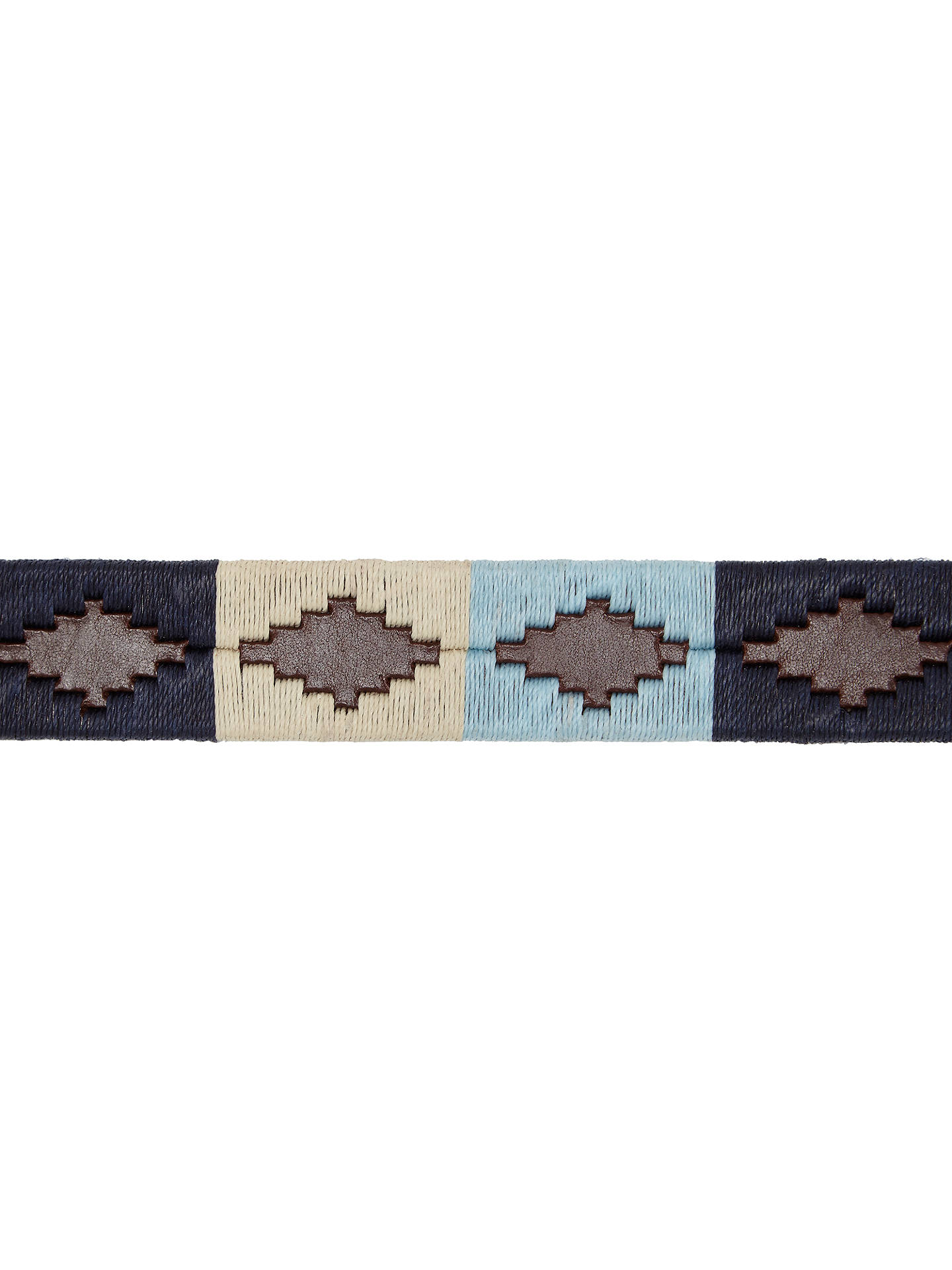 BuyPampeano Leather Polo Belt, Sereno, S Online at johnlewis.com