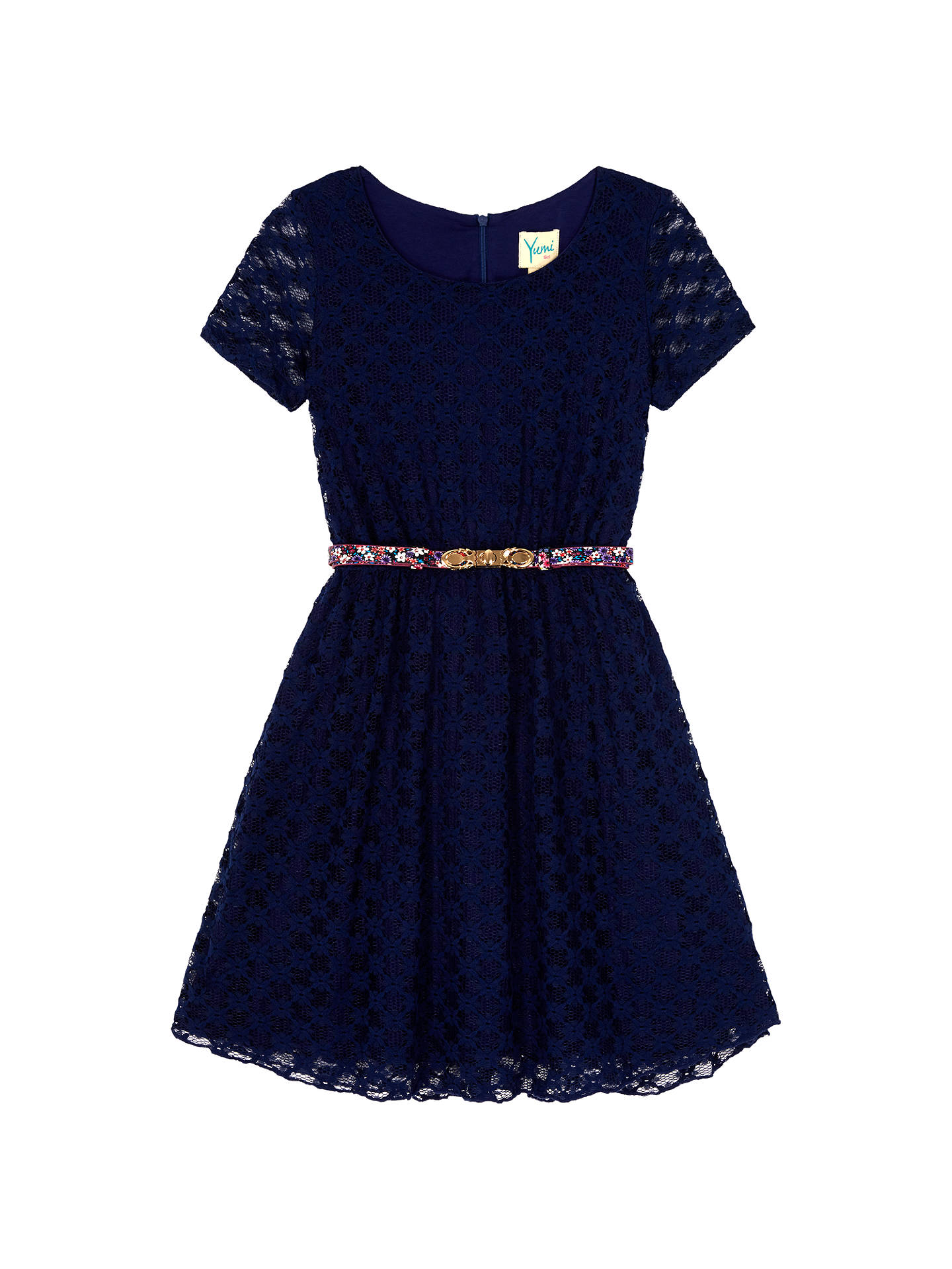 b117c663ce65 Buy Yumi Girl Lace Skater Dress