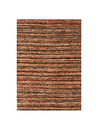 John Lewis Partners Rustic Jute Stripe Runner Rug