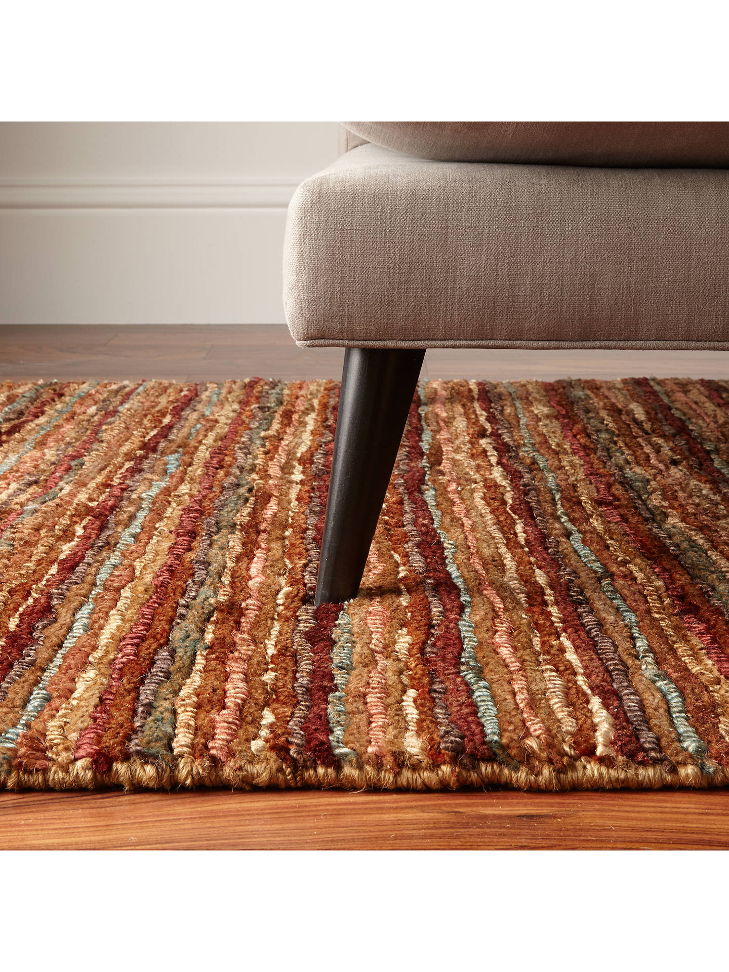 John Lewis Partners Rustic Jute Rug At