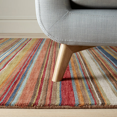 Multi Stripe Rug Uniquely Modern Rugs
