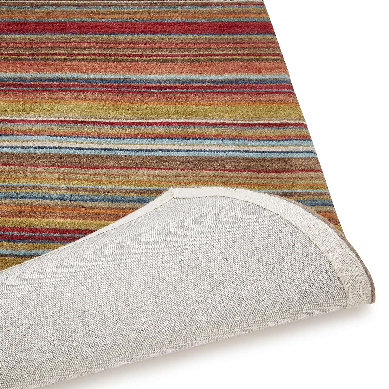 john lewis russet multistripe rug l300 x w200cm at john lewis. Black Bedroom Furniture Sets. Home Design Ideas