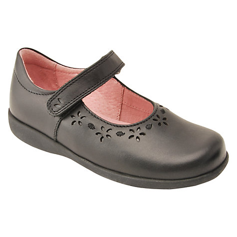 Buy Start-rite Emily School Shoes, Black Online at johnlewis.com