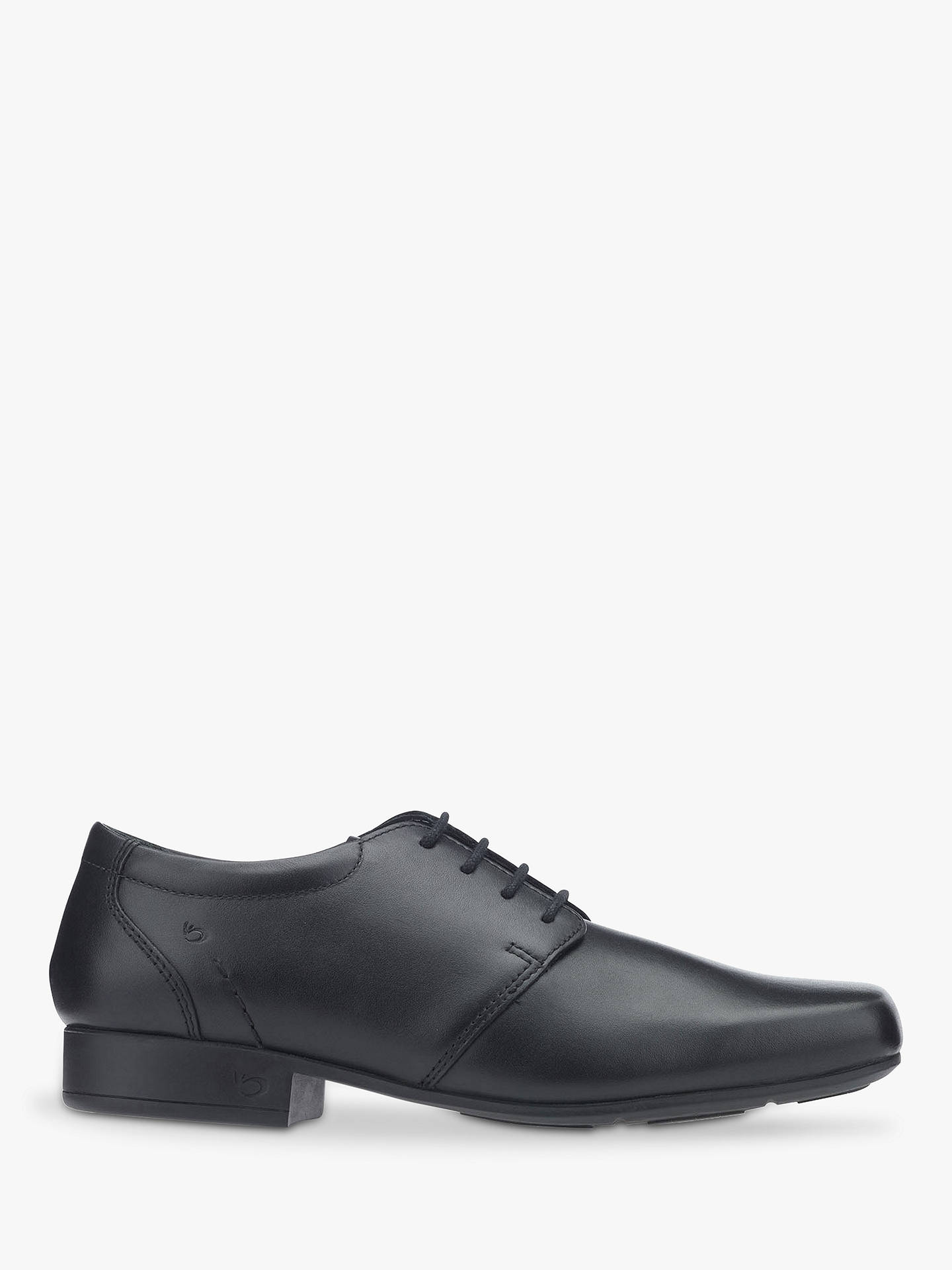 Buy Start-rite Rhino Theo Leather Shoes, Black, 3F Online at johnlewis.com