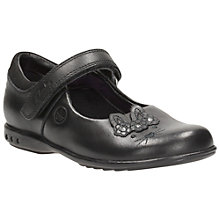 Buy Clarks Trixi Run Lights Mary Jane Shoes, Black Online at johnlewis.com