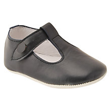 Buy Start-Rite Baby Edward Leather Shoes, Black Online at johnlewis.com