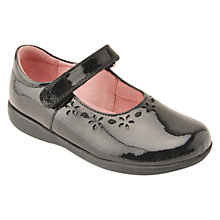 Buy Start-rite Emily School Shoes, Black Patent Online at johnlewis.com