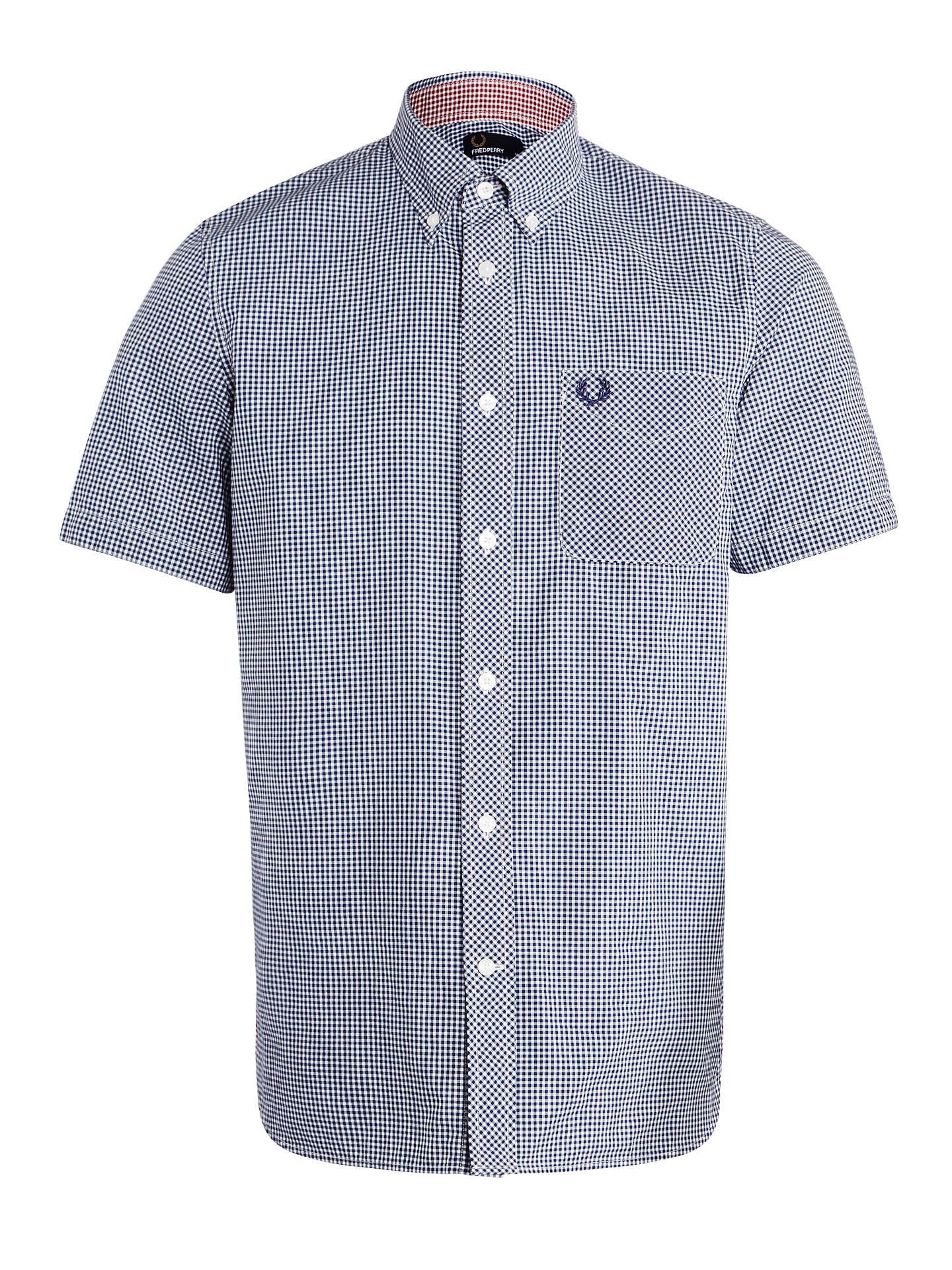 755e41b5d Buy Fred Perry Short Sleeve Poplin Shirt