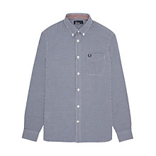 Buy Fred Perry Classic Gingham Shirt Online at johnlewis.com