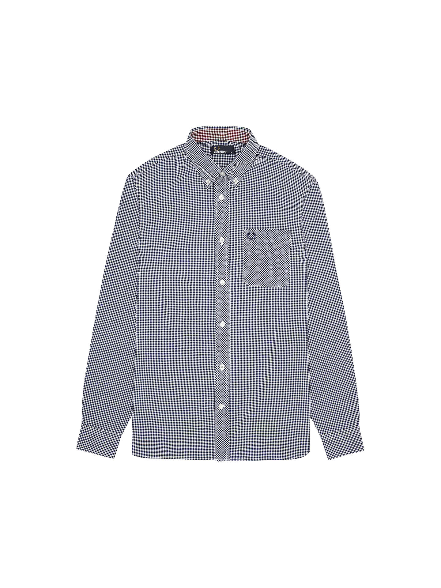 adb72551833 Fred Perry Classic Gingham Shirt at John Lewis   Partners