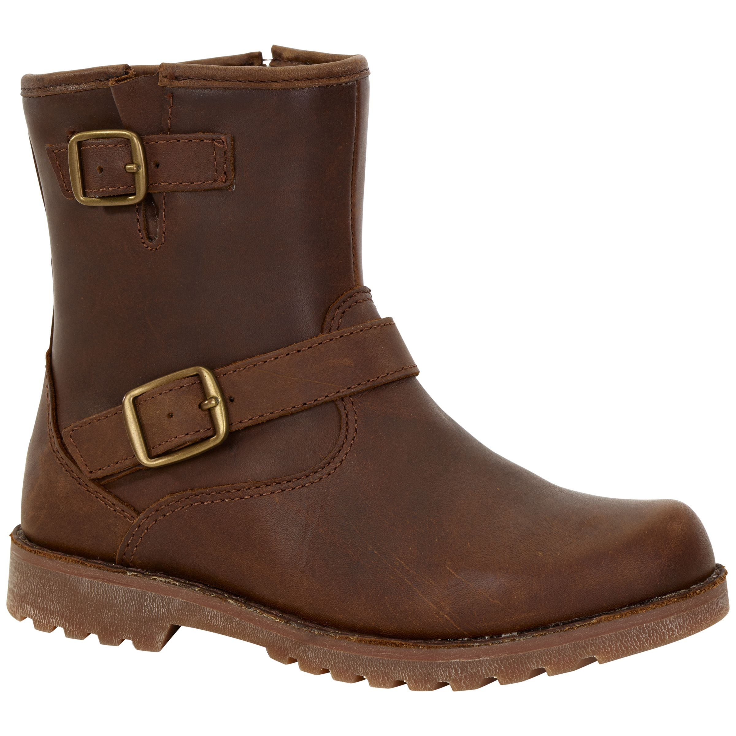65381806613 UGG Harwell Stout Ankle Boots, Brown at John Lewis & Partners