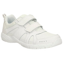 Buy Clarks Cross Zinc Trainers, White Online at johnlewis.com