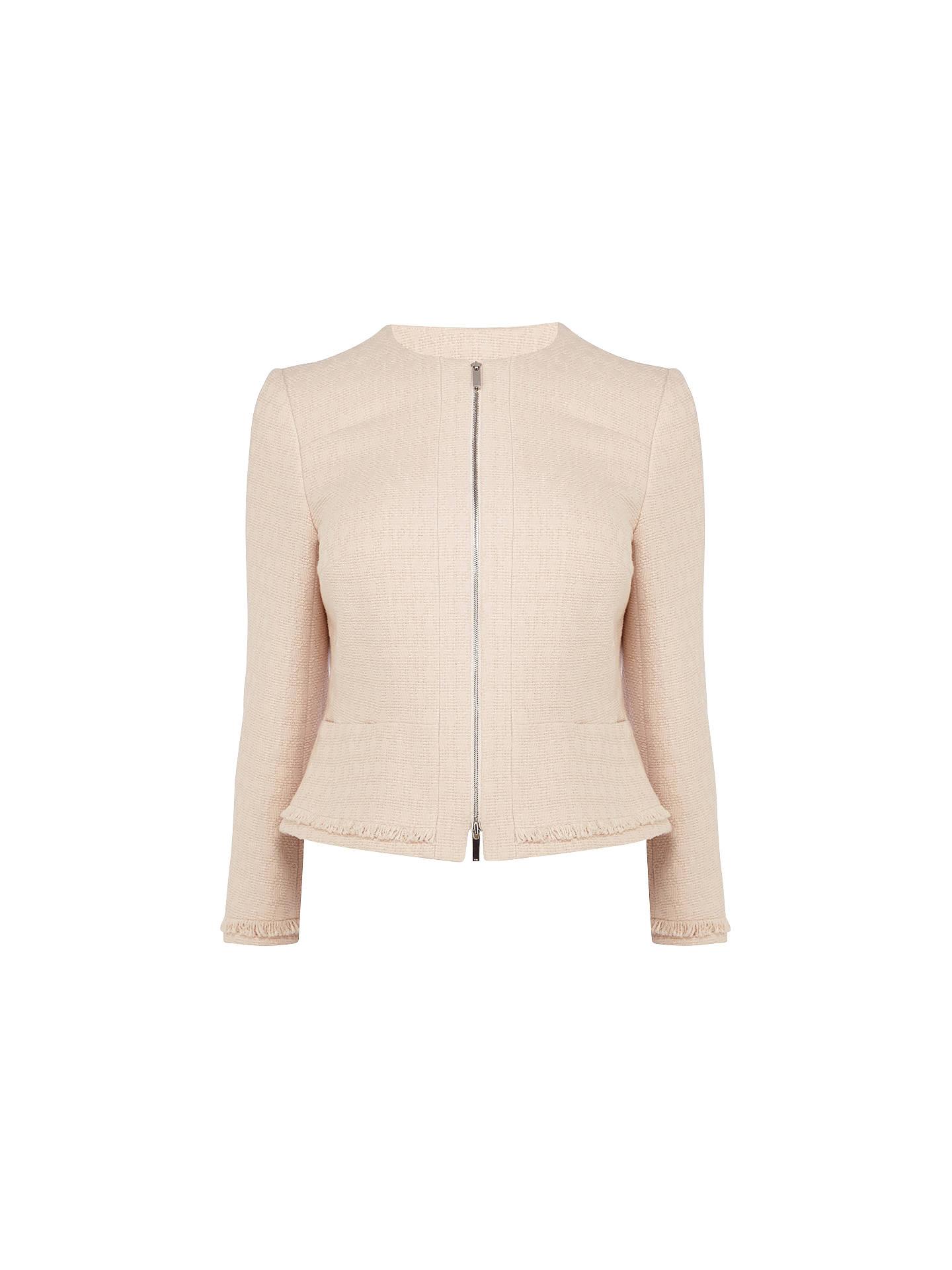 7177778e7120c Buy Karen Millen Fringed Tweed Jacket