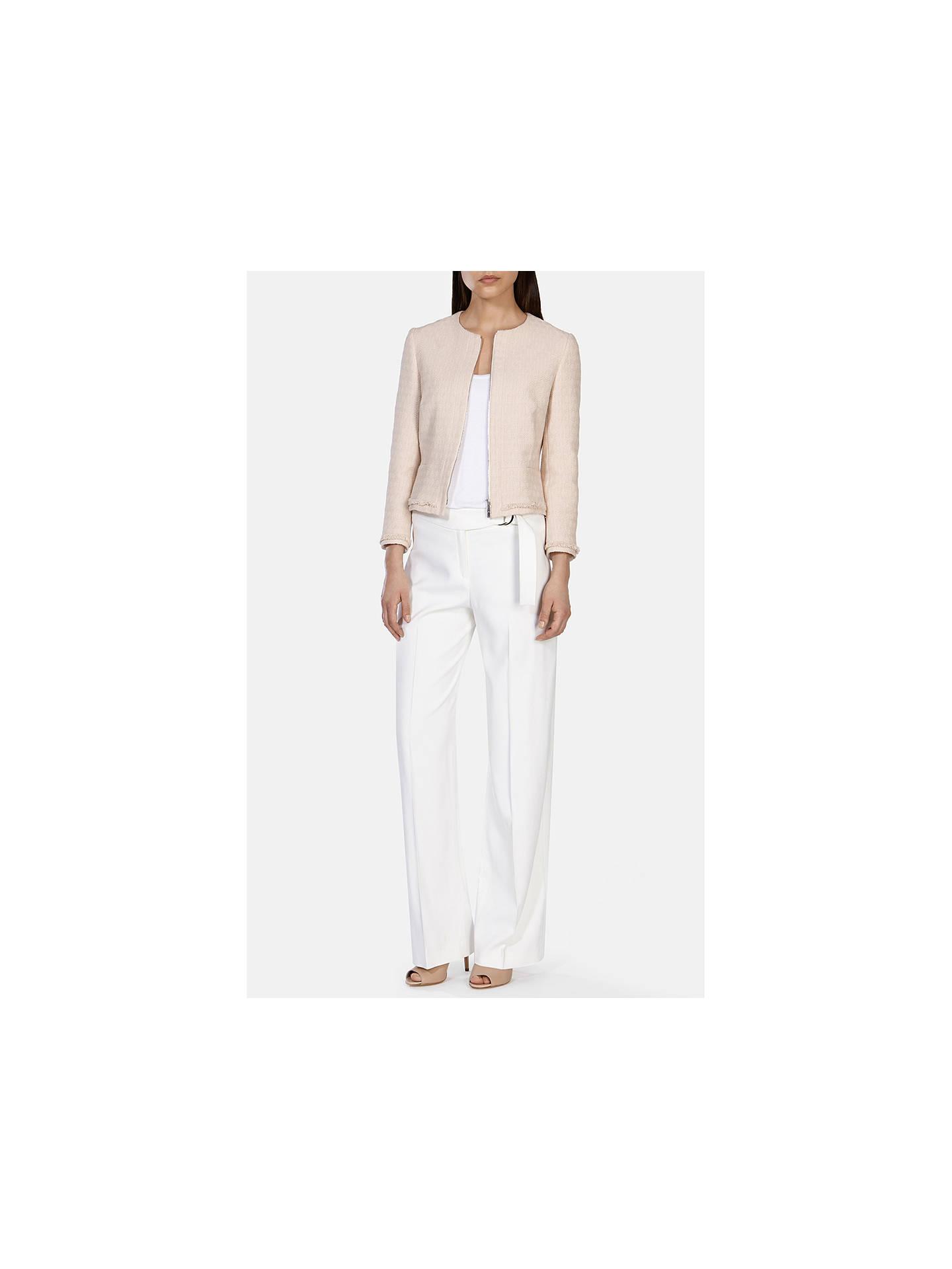 a45f78a50ad0a ... Buy Karen Millen Fringed Tweed Jacket