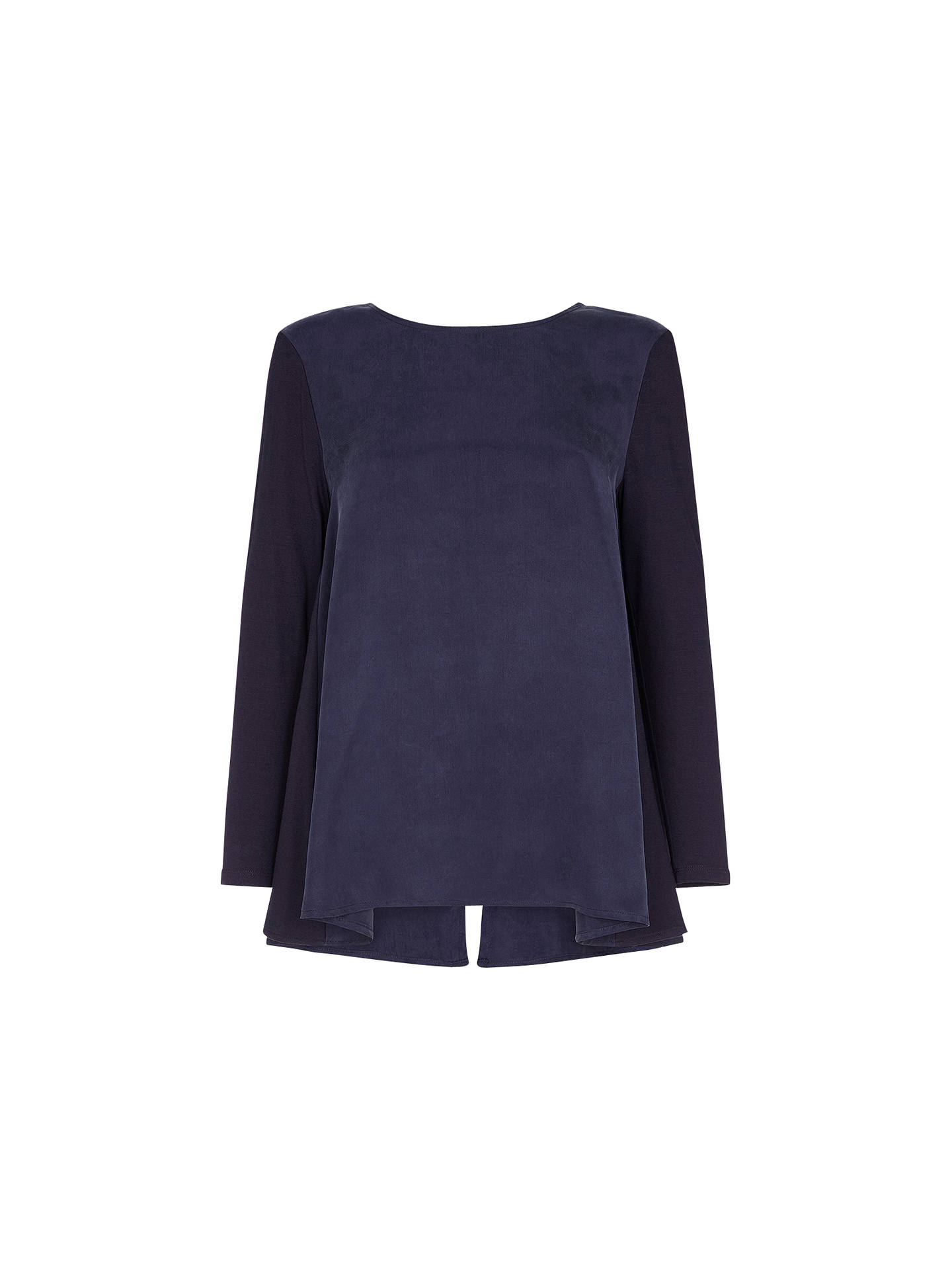 BuyDamsel in a dress Tulip Top, Navy, 8 Online at johnlewis.com