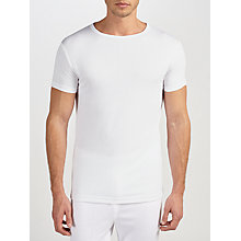 Buy John Lewis Short Sleeve Thermal T-Shirt, White Online at johnlewis.com