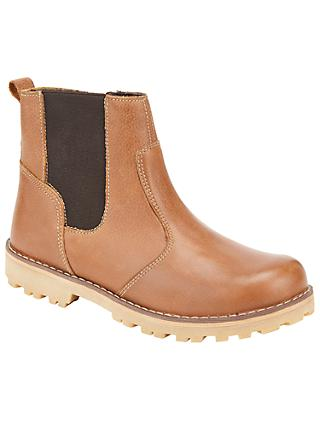 John Lewis & Partners Children's Chelsea Boots, Tan