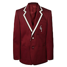 Buy Birchwood High School Boys' Secondary Jacket, Maroon Online at johnlewis.com