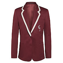 Buy Birchwood High School Girls' Blazer, Maroon Online at johnlewis.com