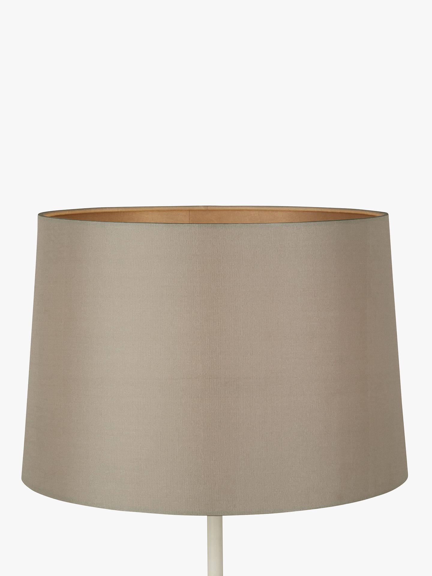 BuyJohn Lewis & Partners Gemma Silk Tapered Lampshade, Mocha, Dia.20cm Online at johnlewis.com