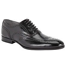 Buy Kin by John Lewis Archie Brush Off Leather Brogue Shoes Online at johnlewis.com