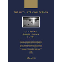 John Lewis The Ultimate Collection Canadian Goose Down Bedding