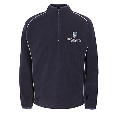 Product photo of Meoncross school sports fleece navy