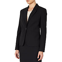 Buy John Lewis Gracie Fine Wool Jacket, Black Online at johnlewis.com