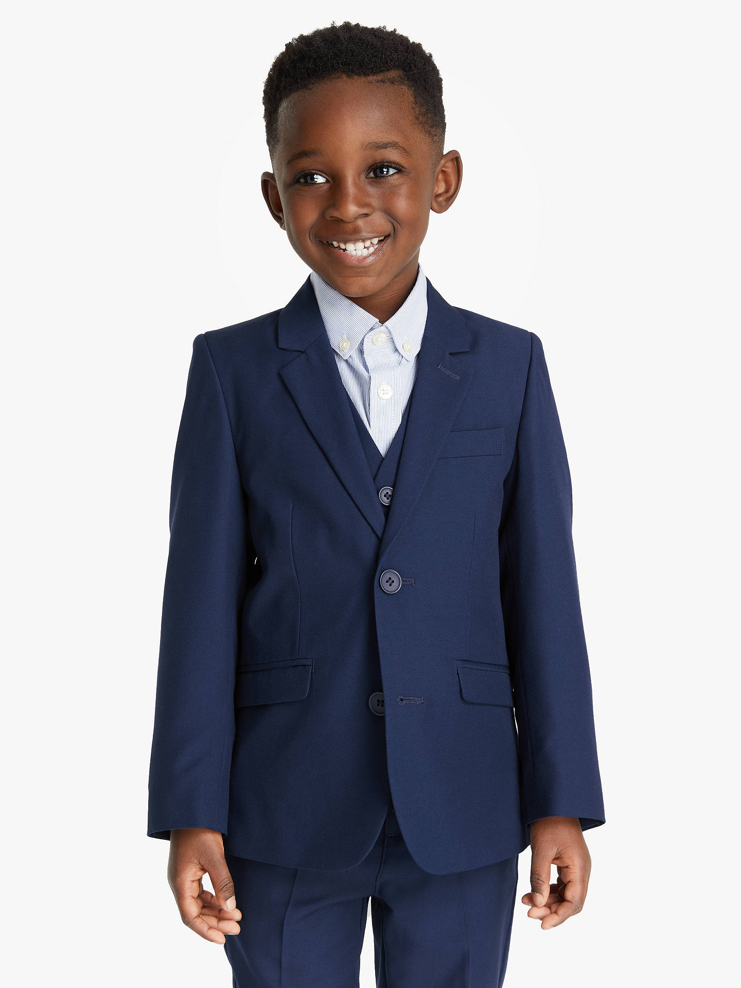 9835f85a4a9f John Lewis   Partners Heirloom Collection Boys  Twill Suit Jacket ...