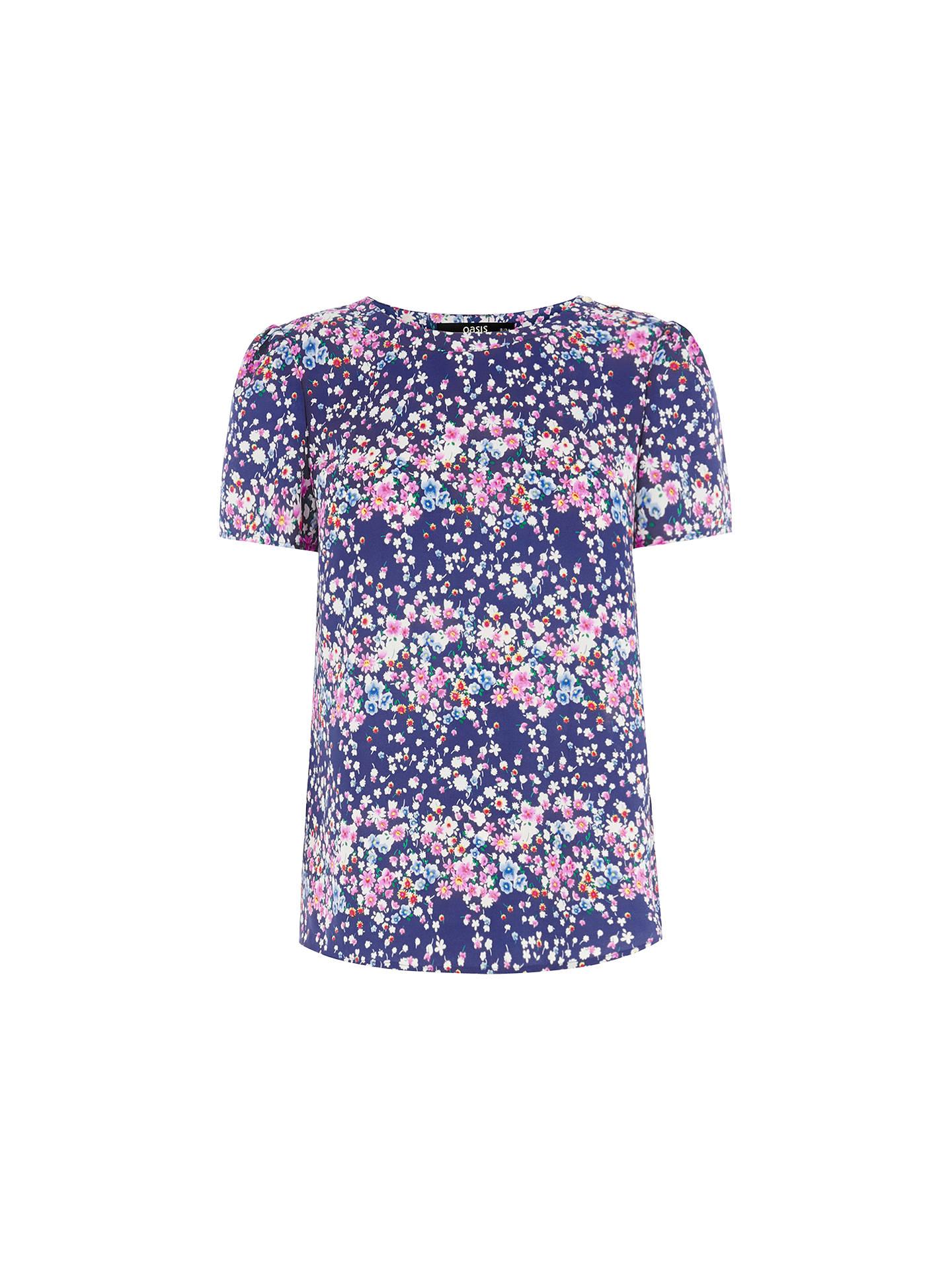64fefa9ddcf43a Buy Oasis Falling Bloom Border Print T-Shirt