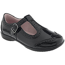 Buy Lelli Kelly Jenette Patent Leather T Bar Shoes, Black Online at johnlewis.com