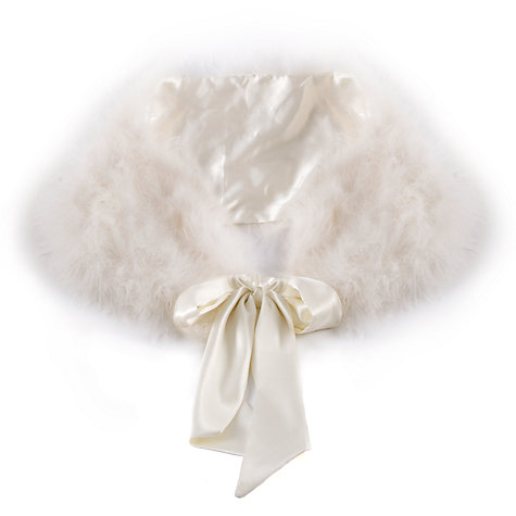 Buy Chesca Feather Maribou Shawl Online at johnlewis.com
