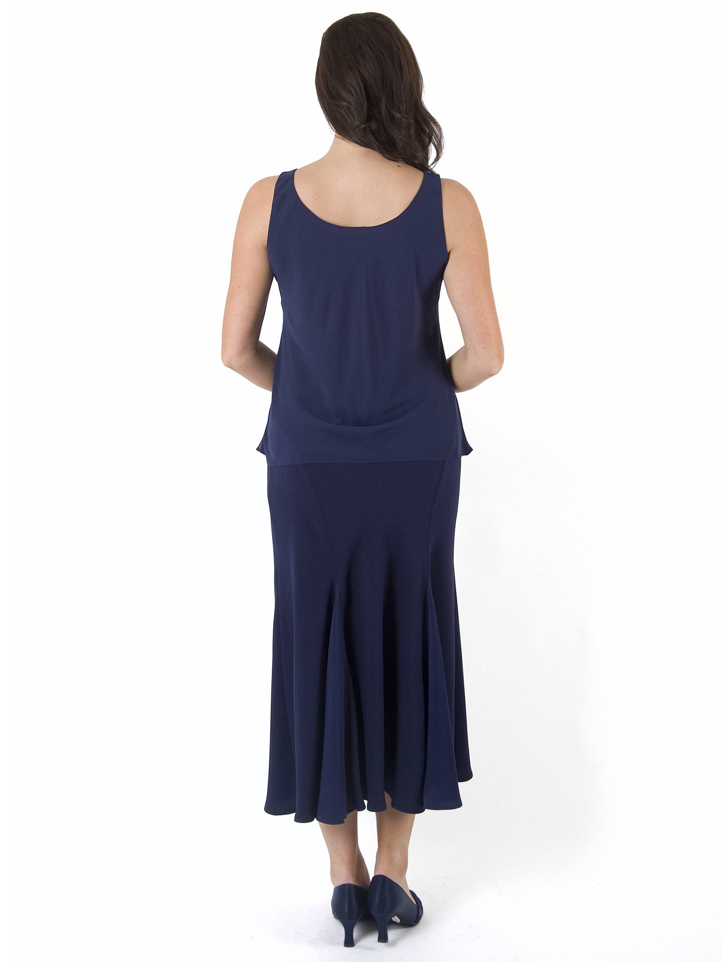 BuyChesca Chiffon Camisole, Blue, 14 Online at johnlewis.com