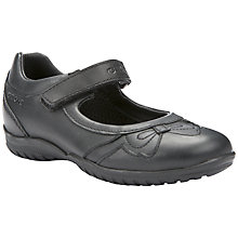 Buy Geox Shadow Bow Shoes, Black Online at johnlewis.com