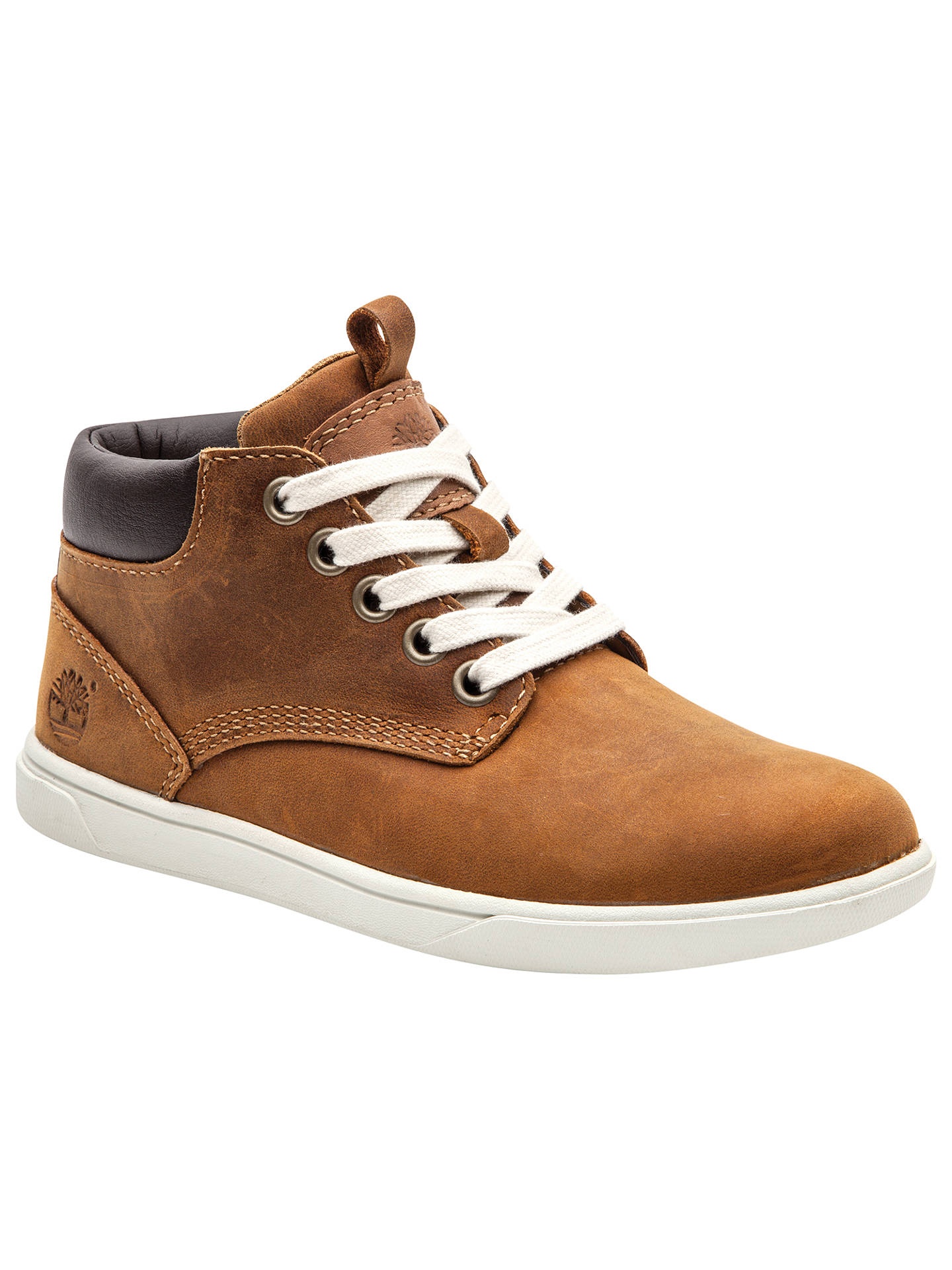 Timberland Groveton Leather Chukka Boots, Brown Ginger at