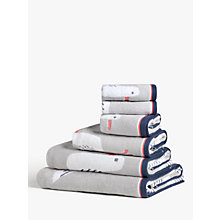 Buy John Lewis Cheeky Gull Towels, Grey Online at johnlewis.com