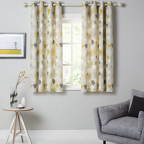 Buy John Lewis Elin Lined Eyelet Curtains John Lewis - John lewis curtains grey