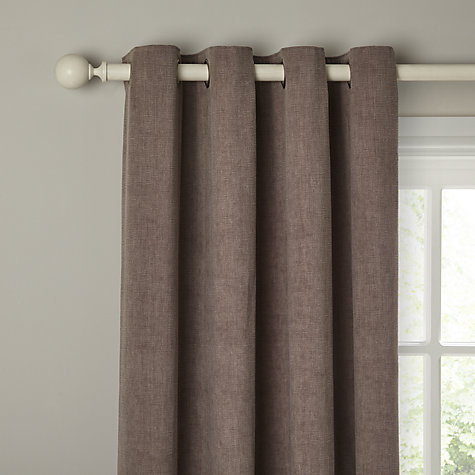... Buy John Lewis Hatch Chenille Lined Eyelet Curtains Online At  Johnlewis.com ...