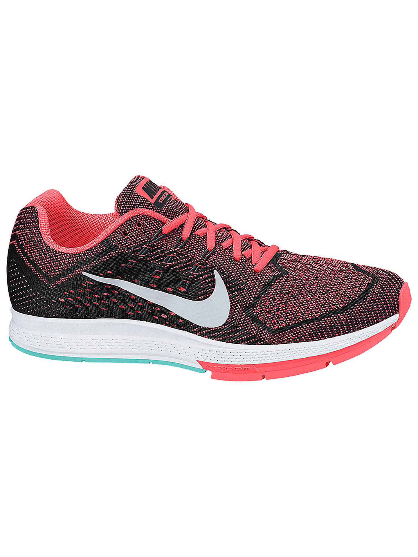 BuyNike Air Zoom Structure 18 Womens Running Shoes, OrangeBlack, 4 Online  at ...