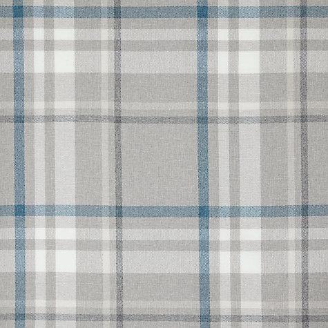 Buy John Lewis Darcey Check Pair Lined Eyelet Curtains