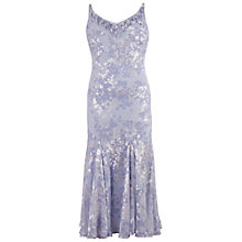 Buy Chesca Lace Cap Devoree Applique Dress, Lilac Online at johnlewis.com