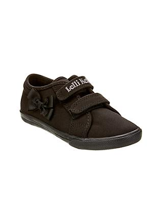 Lelli Kelly Children's Lilly Canvas Plimsolls, Black