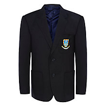 Buy St Clement Danes Secondary School Senior Boys' Blazer, Navy Online at johnlewis.com