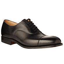 Buy Church's Dubai Leather Oxford Shoes, Black Online at johnlewis.com