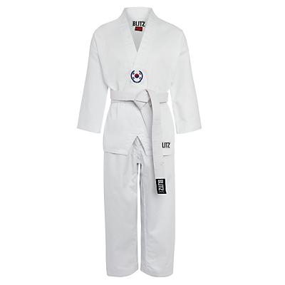 Blitz Children's Taekwondo Suit, White