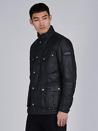Barbour International Duke Waxed Cotton Jacket