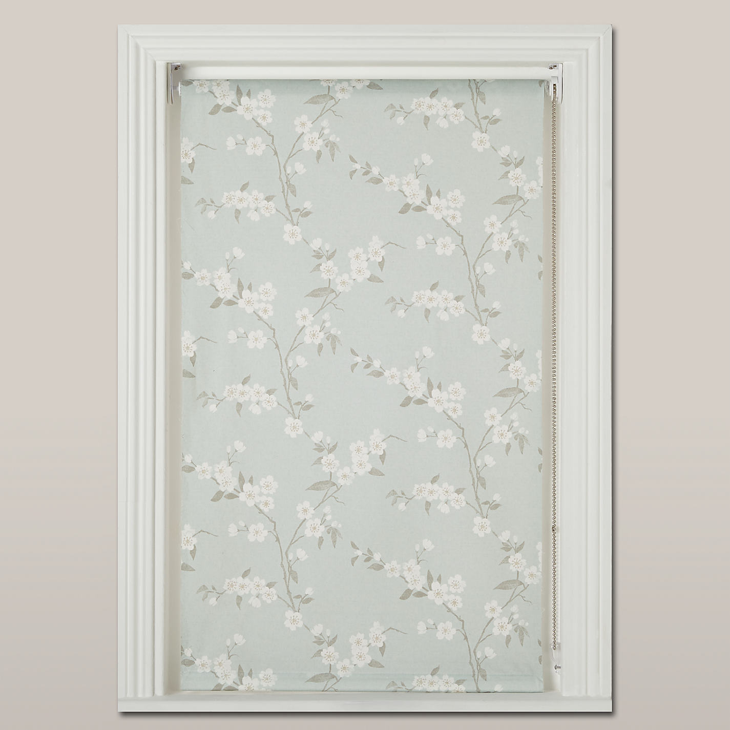 buy john lewis cherry blossom blackout roller blind online at