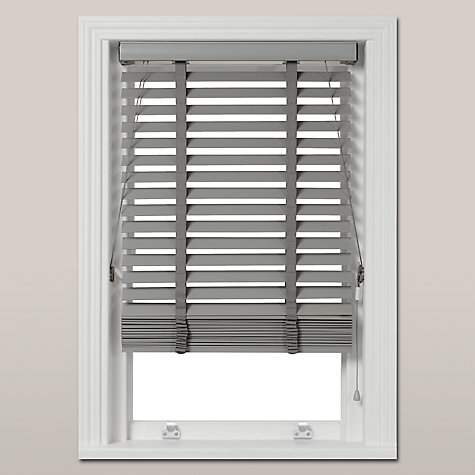 Buy John Lewis Croft Collection Wood Venetian Blind, FSC ...