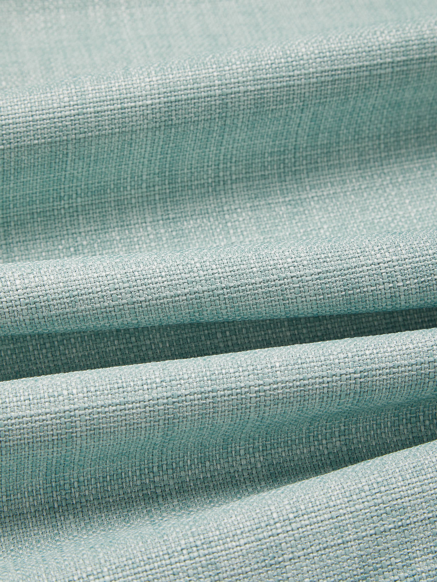 Buy John Lewis & Partners Barathea Pair Blackout Lined Pencil Pleat Curtains, Duck Egg, W167 x Drop 228cm Online at johnlewis.com