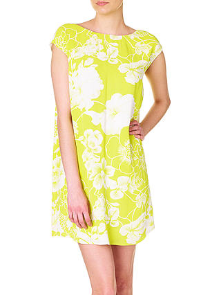 Buy Phase Eight Katarina Floral Dress, Charteuse, 8 Online at johnlewis.com